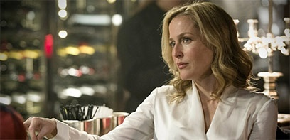 Gillian Anderson à l'affiche de Sex Education sur Netflix